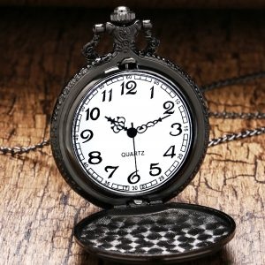 Animation Black ButlerPocket Watch With Necklace Chain