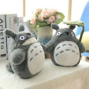 30-70cm Cute Anime Girl Kids Toys Totoro Doll Large Size
