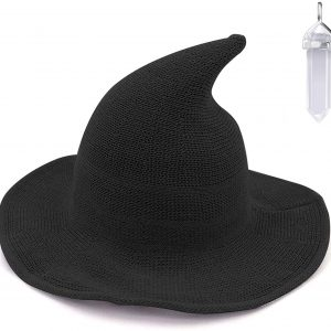 Cosplay Witch Wizard Kinitted-Wool Hats