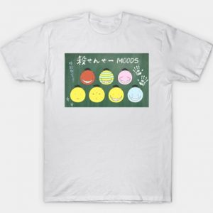 Assassination Classroom Funny Printed T-Shirt
