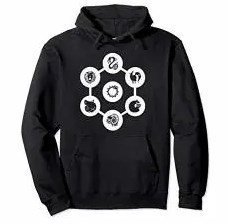 Men's Seven Deadly Sins Hoodie Clothing