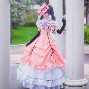 Anime Black Butler Ciel Phantomhive Cosplay Dress Women