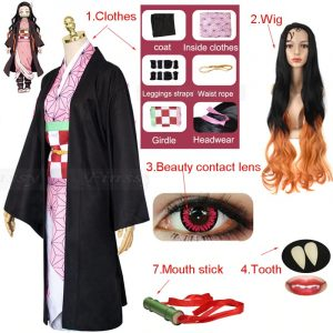 Cosplay Including Shoes Wig Tooth Mouth Stick Adult Woman