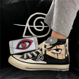 Kakashi Sneakers Gaara Madara Pain Cosplay School Outdoor Travel Shoes