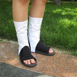 Cosplay Costume Christmas Halloween Party Sandals Boots For Women&Men
