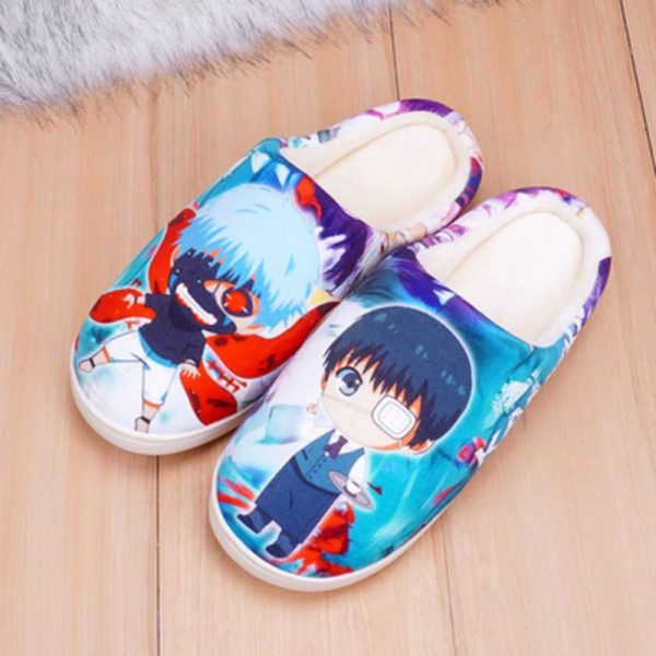 Anime cosplay Costumes Unisex Winter Warm Plush Shoes