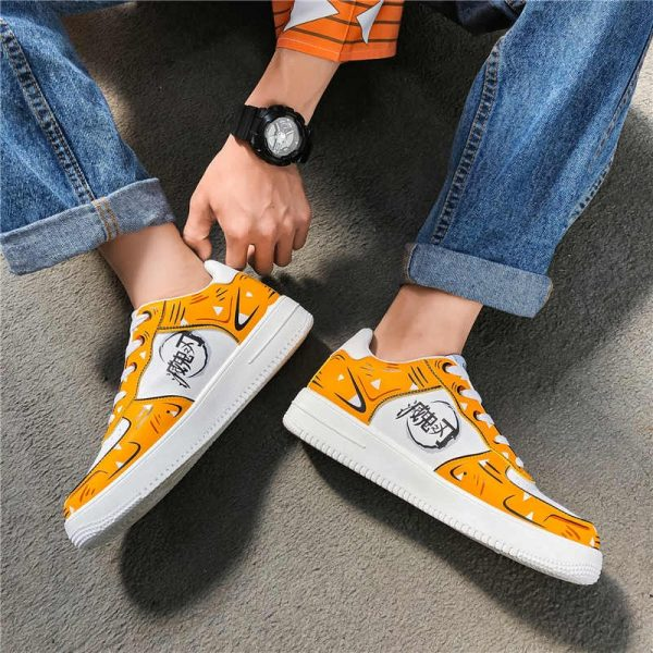 Cosplay Print Patchwork Shoes Sports School Shoes