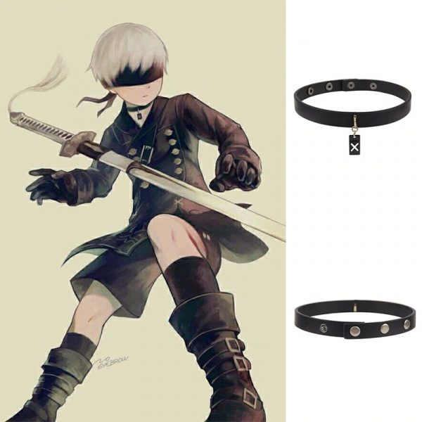Game NieR Automata 9S Cosplay Accessories Clavicular chain Pendant jewelry