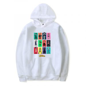 Anime Hoodies Boku No Hero Academia Character Sweatshirt Women Men