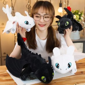Hot Anime How to Train Your Dragon 3 plush toy Soft Toothless