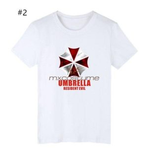 Cosplay Resident Evil Umbrella Corporation T-Shirt