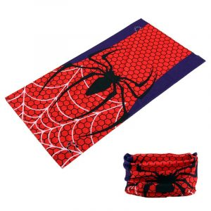 Spider Printing Bicycle Bike Dust Mask Face