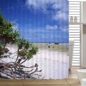 Sunshine&Forest Shower Curtains Waterproof Women Bathroom Products